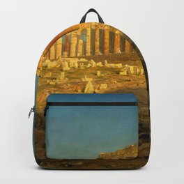"Frederic Church ""Parthenon"" Backpack"