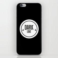 Dark Love iPhone & iPod Skin