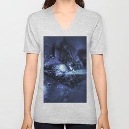 Abstract Imagined Unisex V-Neck