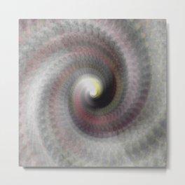 Spiral Flow Metal Print