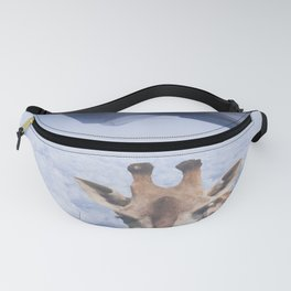 Yeah yeah, for sure there is a funny giraffe...  #decor #society6 #buyart Fanny Pack