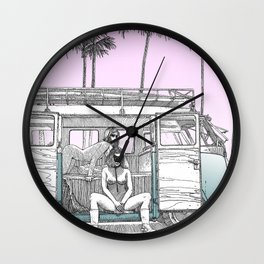 asc 691 -  Book cover for La Musardine Wall Clock