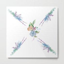 Summer florals Metal Print