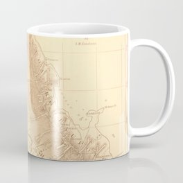 Vintage Map of Oahu Hawaii (1901) Coffee Mug