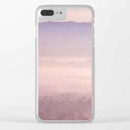 Morning Pink Clear iPhone Case