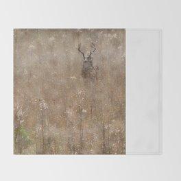 Autumn - Buck in Tennessee Throw Blanket