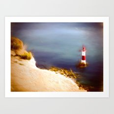 Beachy Head Lighthouse Art Print