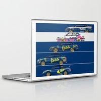subaru Laptop & iPad Skins featuring Colin McRae, The Subaru Years by Ricardo Santos