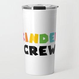 KINDER CREW, Kindergarten teacher Travel Mug