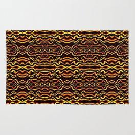Tribal Art Abstract Pattern  Rug
