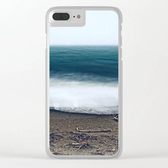 In the Ocean Deep Clear iPhone Case
