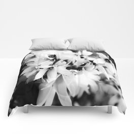 Forsythia in BW Comforters