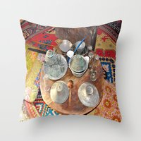 welcome Throw Pillows featuring Welcome by Laake-Photos