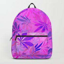 Pink and Purp by Wetpaint420 Backpack