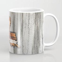 Rustic Louisiana Shape Coffee Mug