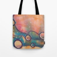 dune Tote Bags featuring Dune by Angelina Yvette