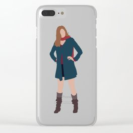 Amy Pond: The Girl Who Waited Clear iPhone Case