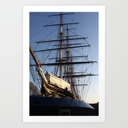 The Cutty Sark Clipper Art Print