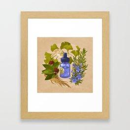 Energy & Concentration Framed Art Print