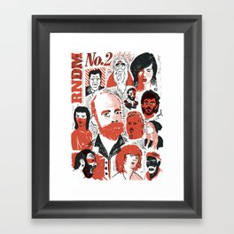 RNDM#2 Framed Art Print