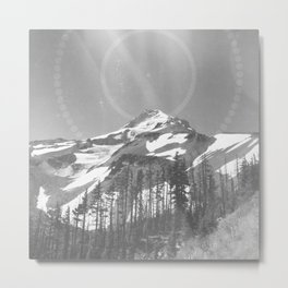 North Facing Side of Oregon's Guardian Metal Print