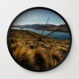 Lake Tekapo Wall Clock