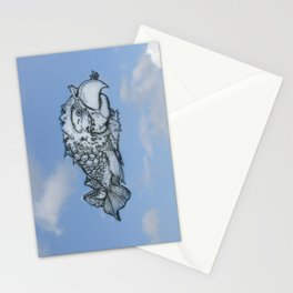 Shaping Clouds / Parrot Fish Cloud Stationery Cards