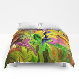 Abstract 070313 Comforters
