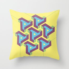 Geometric Play 08 Throw Pillow