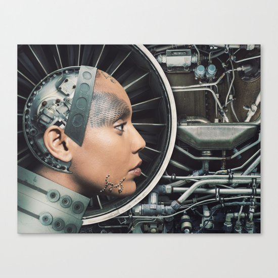 The Female Engine Canvas Print