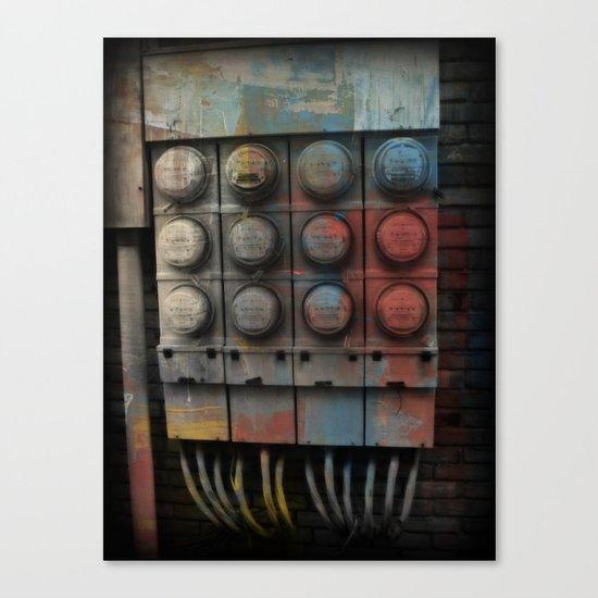 Power Surge Canvas Print
