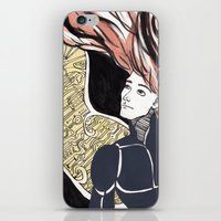human iPhone & iPod Skins featuring HUMAN by Dulevartiano