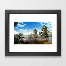 London [Horizon Zero Dawn] Framed Art Print