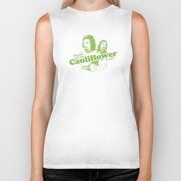 Cauliflower   Green Biker Tank