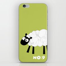 Sheep Number 9.... iPhone & iPod Skin