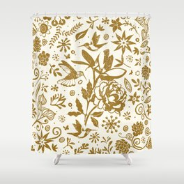 Oh, beautiful garden of mine Shower Curtain