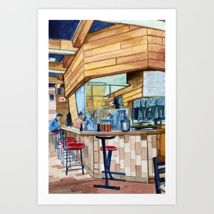 Okonami House Art Print