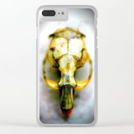 Gothic Mouse Clear iPhone Case