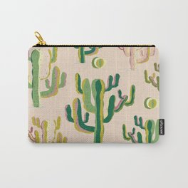 Cactus design print Carry-All Pouch