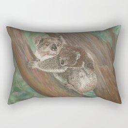 Koala Love with Joey Rectangular Pillow