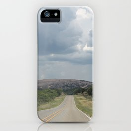 View of Enchanted Rock iPhone Case