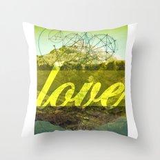 LOVE (1 Corinthians 13:13) Throw Pillow