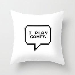 Play games Throw Pillow