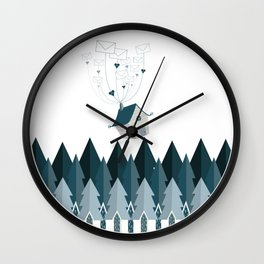 Far Away Love Wall Clock