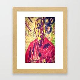 Fields of Qi Framed Art Print