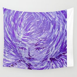 Blue Eolo Wall Tapestry
