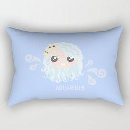 Aquarius Girl Rectangular Pillow