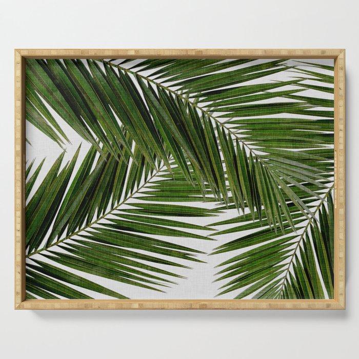 Palm Leaf III Serving Tray