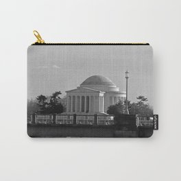 Jefferson Memorial on Christmas 2017 Carry-All Pouch