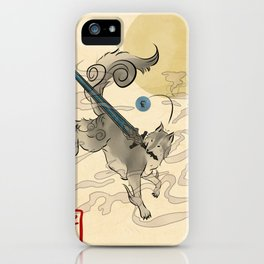 The Great Grey Wolf Sifkami iPhone Case
